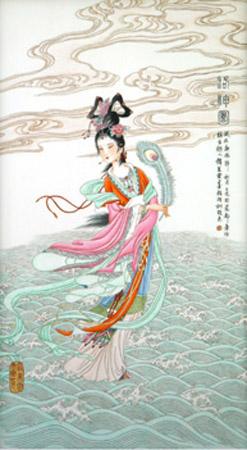Goddess Luo de Zhao Meiyun