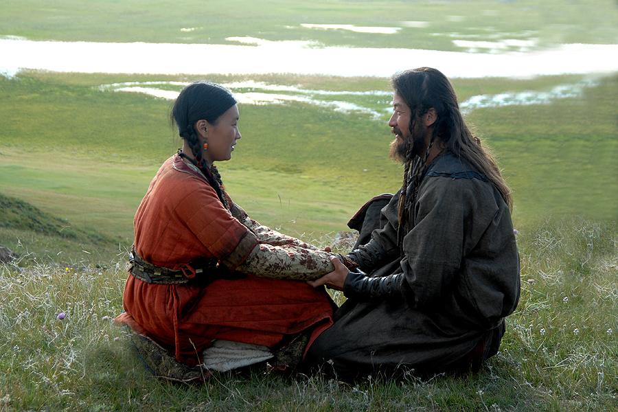 Temoudjin et Borte