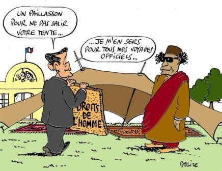 Vive Kadhafi!